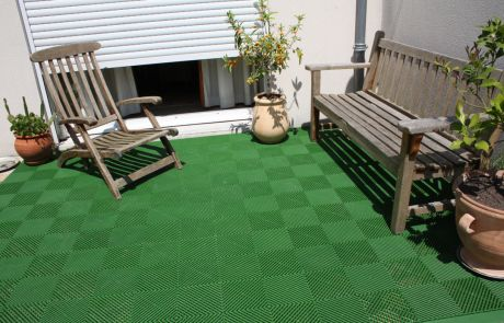 PaviClip - Applicazioni - Terrazze e Giardini